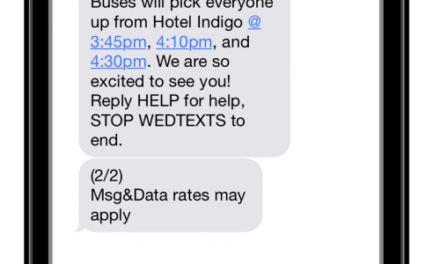 10 Most Popular WedTexts Messages