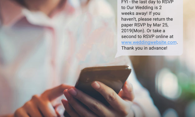 Wedding Text Message Reminders To Enhance Your Wedding Guest Experience