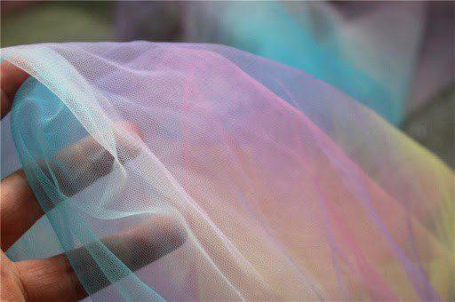 show pride rainbow veil