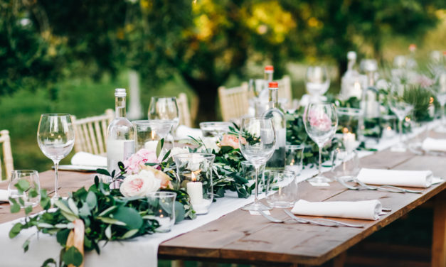 How To Rock A Backyard Reception During COVID-19