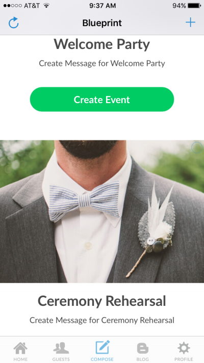 Create scheduled wedding reminders