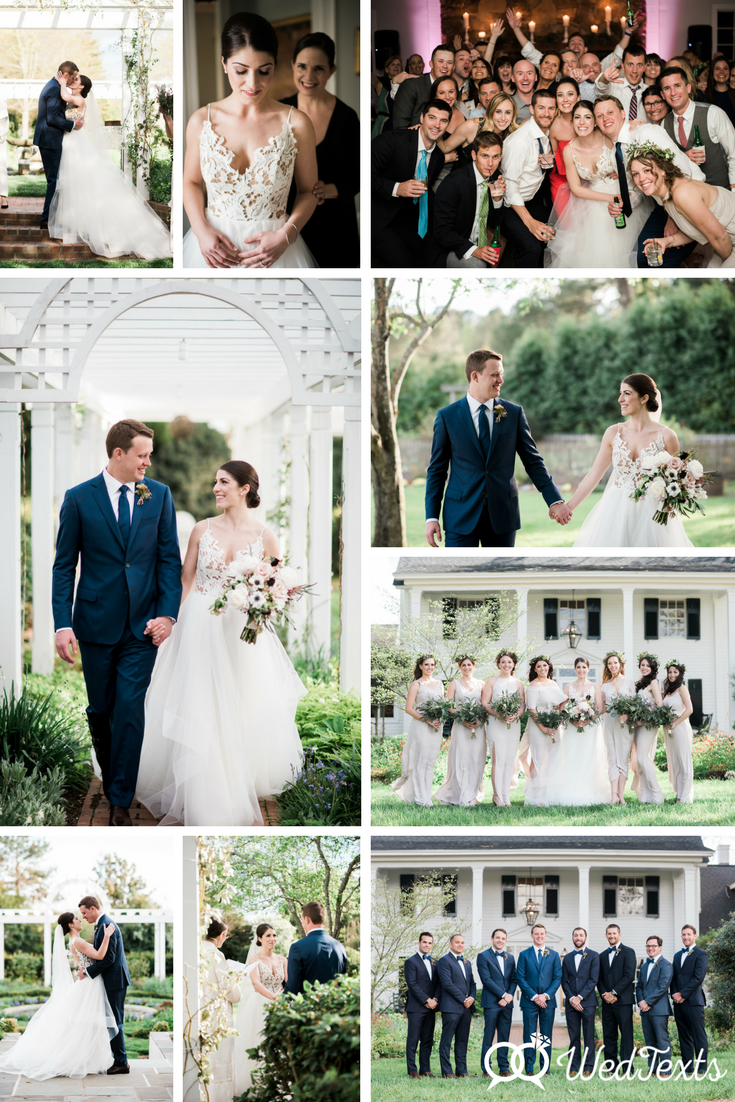 Arielle and David - WedTexts Wedding Couple